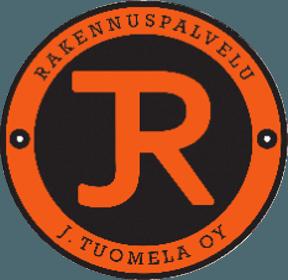Rakennuspalvelu J. Tuomela Oy:n logo.