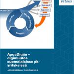 ApuaDigiin – digimuutos suomalaisissa pk-yrityksissä julkaisun kansikuva