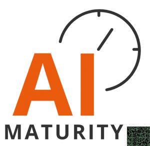 AI Maturity ikoni.